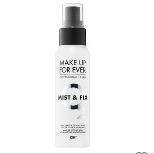 🐬5/$25 Makeup Forever mist & fix setting spray